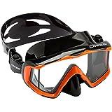 Cressi Pano 3 Mask (Black Orange)