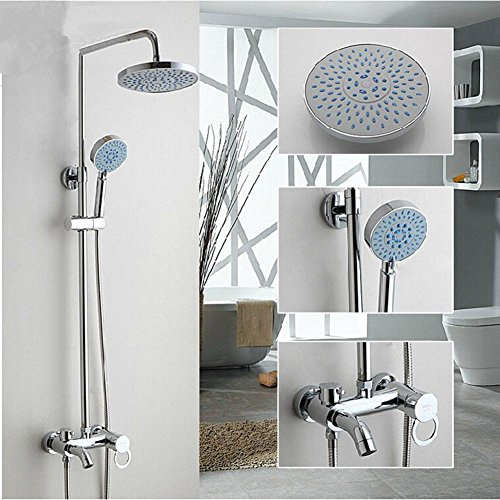 high-quality GAOF Copper shower faucet shower set three controlled Handline with water lifting shower