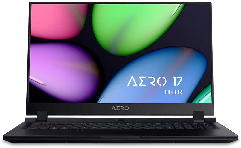 "[2020] Gigabyte AERO 17 HDR XB, 17.3"" Extreme Performance Laptop, 4K UHD IPS HDR Display w/ 100% Adobe RGB, GeForce RTX 2070 Super MAX-Q, i7-10875H, 32GB DDR4, 1TB NVMe SSD, up to 8-hrs Battery Life"