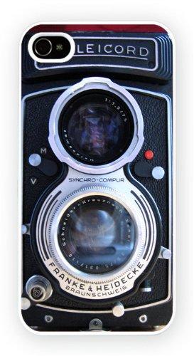 Rolleicord Vintage Camera, iPhone 5C, Etui de téléphone mobile - encre brillant impression