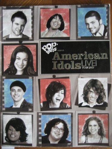 Pop Tart Presents Amrican Idols Live! Tour 2007 Program ()