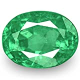 0.88-Carat Natural Emerald - 100% Unheated & Untreated, Mined in Zambia, Premium Loose Gemstone