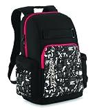 JanSport Scraper Core Series Daypack (Black/High Risk Red Glare), Outdoor Stuffs
