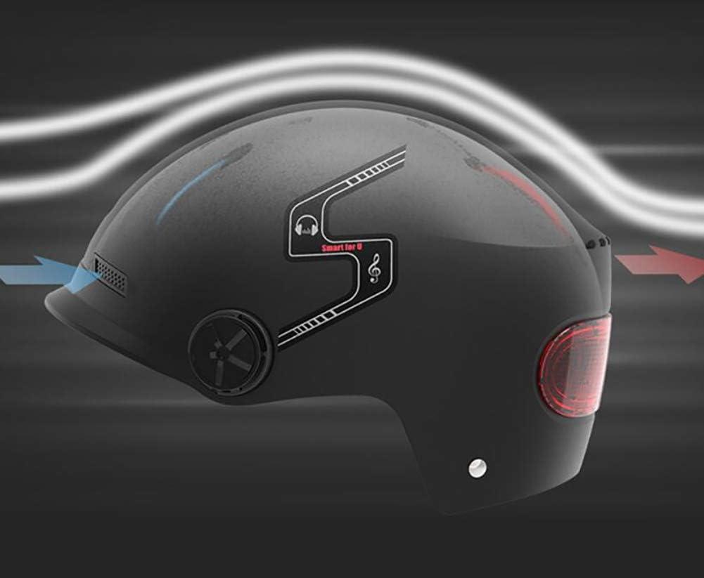 FENGE Casque de Moto int/égral avec Casque Bluetooth modulable /à Double visi/ère pour Homme//Femme,