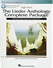 The Lieder Anthology Complete Package - High Voice: Book/Pronunciation Guide/Accompaniment Online Audio