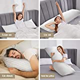 DOWNCOOL Body Pillow for Sleeping Long Cuddle