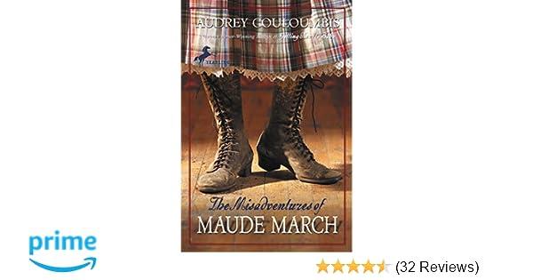 e7de5ca9c12 The Misadventures of Maude March: Audrey Couloumbis: 9780375832475 ...