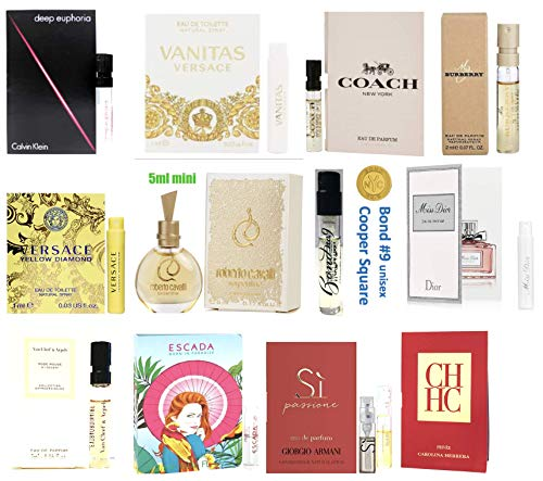 Women's Designer Perfume Samples Set of 12