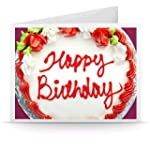 Happy Birthday (Cream Cake) - Printab...