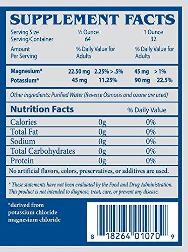 Magnesium Potassium Mineral Blend Angstrom Minerals Relax 32oz