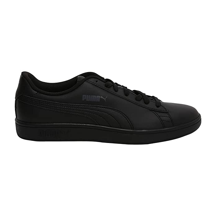 Puma Smash V2 L Sneakers Erwachsene Damen Herren Unisex komplett schwarz