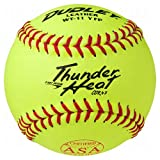 Dudley Asa Thunder Heat Fast Pitch Softball 11'' 12 Ball Pack