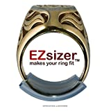 EZsizer Ring Size Reducer, Ring Guard, Ring Size Adjuster, Size: Wide, for rings 4 to 6 mm wide