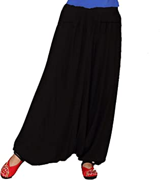 Andux Zone Harem Baggy Aladin Hippy Yoga Pantalones Bombacho ...