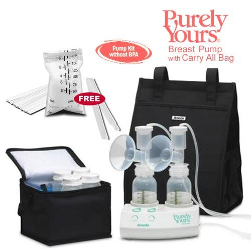 AMEDA 17077-KIT5 Purely Yours Breast Pump 2009 with Carry...