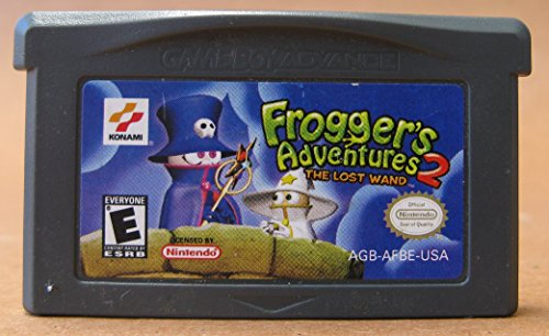 Frogger's Adventures 2: The Lost Wand (Game Boy Advance) - Rated E