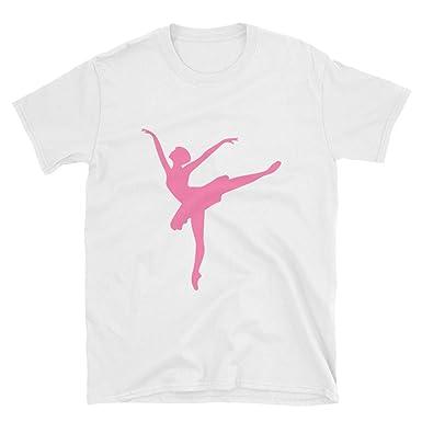 aeeb5cafd Amazon.com  Dance t Shirt Dancer Silhouette Print Women Dancer Dance ...