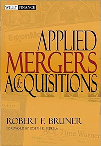 Applied mergers and acquisitions robert f bruner joseph r applied mergers and acquisitions 1st edition fandeluxe Image collections