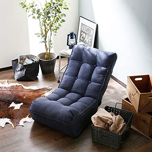 Amazon.com: ZHIRONG Sofá silla plegable suelo con 3 ...