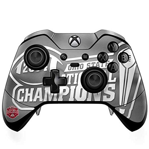 Skinit Football Champions Ohio State 2014 Xbox One Elite Controller Skin - Officially Licensed Ohio State University Gaming Decal - Ultra Thin, Lightweight Vinyl Decal Protection
