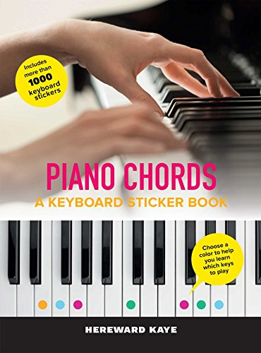 - Piano Chords: A Keyboard Sticker Book: The Sticker Book