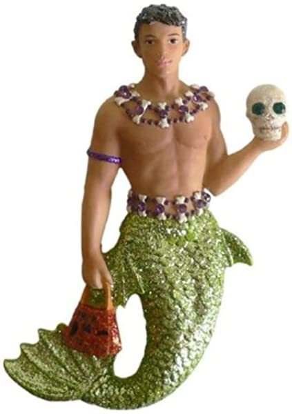 December Diamonds MAGNET Jack O Lantern Gay Halloween Merman