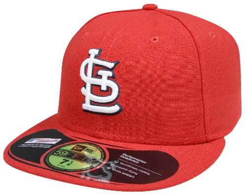 New Era MLB St. Louis Cardinals Authentic On Field Game 59Fifty Cap, 7 3/8 (Field 59fifty Game)