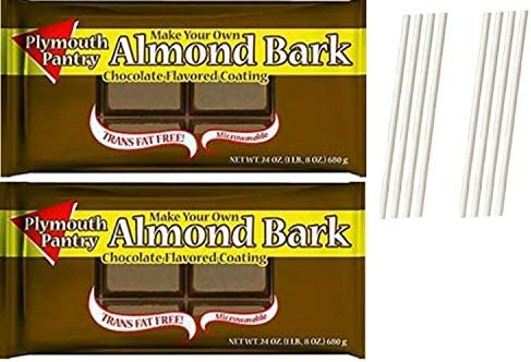 Plymouth Pantry Almond Bark Dark Chocolate Wafers Easy One ...
