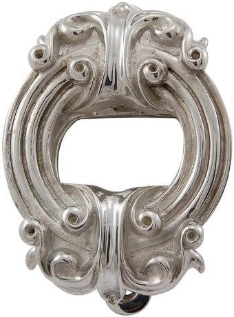 Polished Silver Vicenza Designs DK9002 Sforza Door Knocker