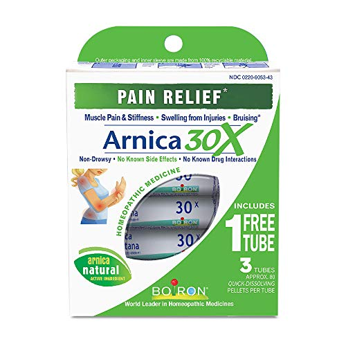 Boiron Arnica Montana 30X Pain Relief Medicine 3 Count Homeopathic