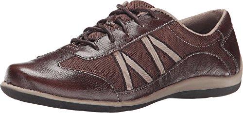 Naturalizer Women's Defoe Oxford Brown Sneaker 6 M (B)