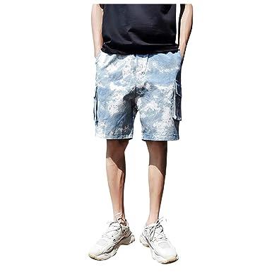 Darringls Pantalones Cortos Hombre, Pantalones Cortos de los ...