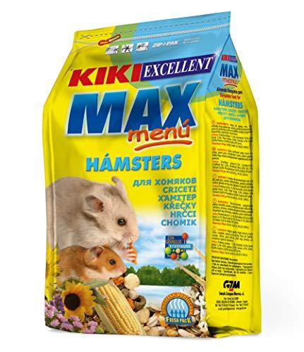 Kiki Excellent Max Menu – Alimento Completo para Hamsters, 1 kg