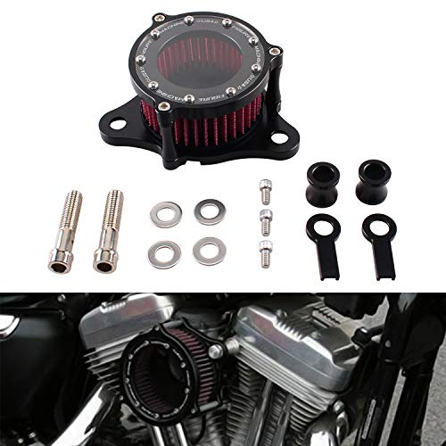 Heart Horse Air Cleaner Intake Filter System Kit for 1988-2015 Harley sportster XL883 X1200
