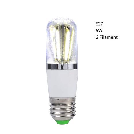 Zerodis Bombilla de filamento led, 12V Tornillo Socket E27 Led de Ahorro de energía Brillante Techo de Techo Lámpara Colgante Lámpara de reemplazo de ...