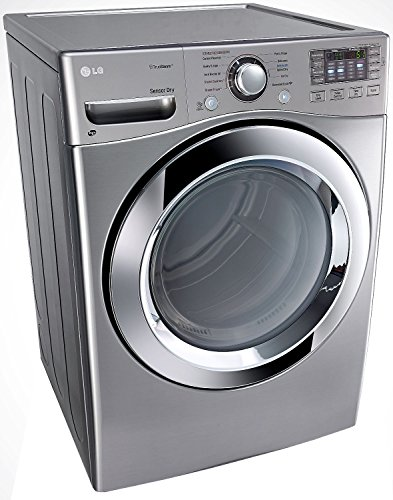 LG DLEX3370V 7.4 cu. ft. Electric Dryer with 10 Drying Cycles, TrueSteam Technology, Energy Star Rated, in Graphite