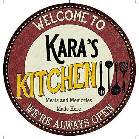 Amazon Com Chico Creek Signs Kara S Kitchen 12 Round Metal