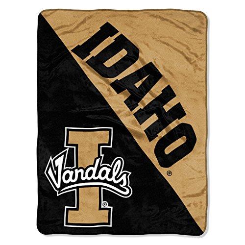 (The Northwest Company Officially Licensed NCAA Idaho Vandals Halftone Micro Raschel Throw Blanket, 46