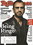 Rolling Stone Magazine April 9, 2015 Being Ringo Starr, ISIS, James Taylor, Alabama Shakes, Mad Men, Ad Rock, Van Morrison, Kendrick Lamar, Courtney Barnett, etc., Rare in Great Condition!