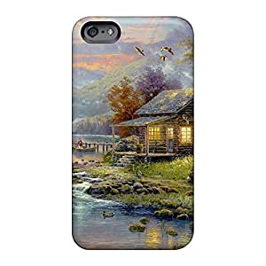 iphone 6plus 6p Perfect phone case skin For phone Cases Collectibles thomas kinkade nature's paradise