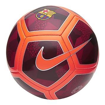 Nike FCB Nk Skls Balón de Fútbol, Hombre, (Night Maroon/Hyper Crimson