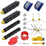 Accessory Kit for Irobot Roomba 600 Series Robot Vacuum Cleaner Replacement Parts 529 585 595 600 610 620 630 650 660 670 Pac