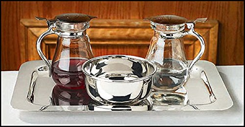 Cruet Set with Tray and Bowl by AT001