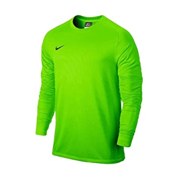 ceccc4c1e Nike Men s Long Sleeve Park Goalie II Soccer Goalkeeper Jersey (Small)  Electric Green