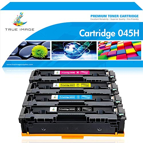 True Image Compatible Toner Cartridge Replacement for Canon 045H 045 MF634Cdw MF632Cdw CRG-045H 045 Toner Cartridge 045 045H Canon Color ImageCLASS MF634Cdw MF632Cdw LBP612Cdw MF632 MF634 Ink ()