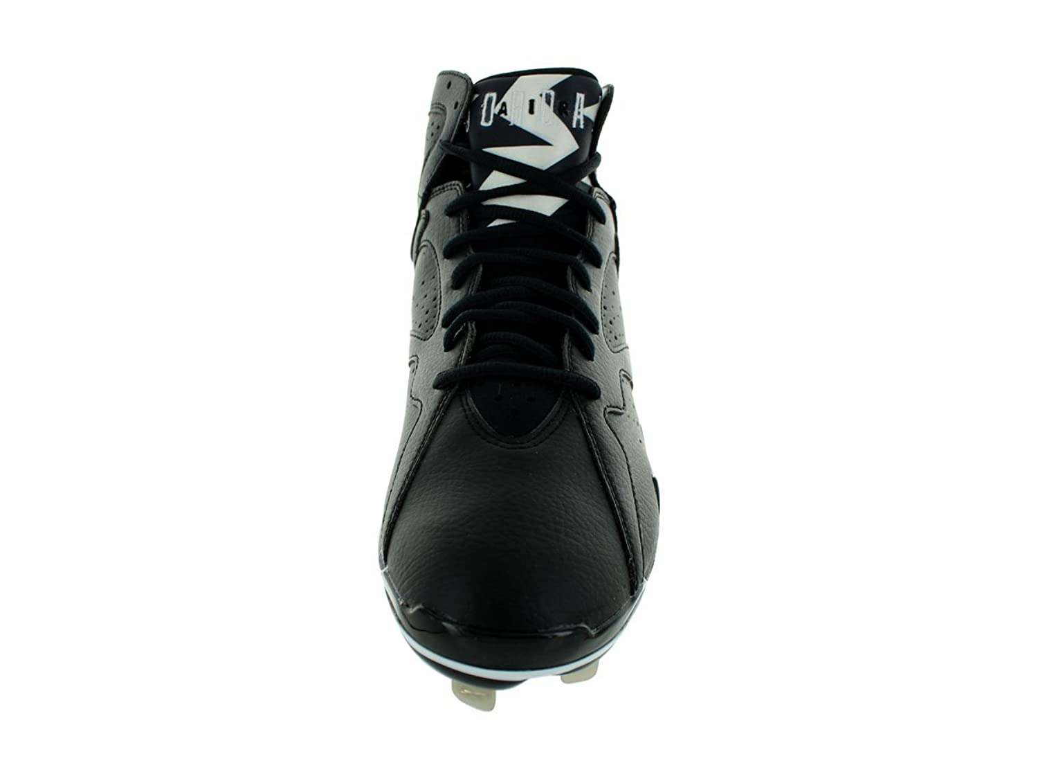 Amazon.com | Nike Men\u0027s Air Jordan 7 Retro Metal Black/White Baseball Cleat  10.5 Men US | Baseball \u0026 Softball