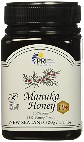 Pacific Resources International Manuka Honey 10+, 1.1 pound