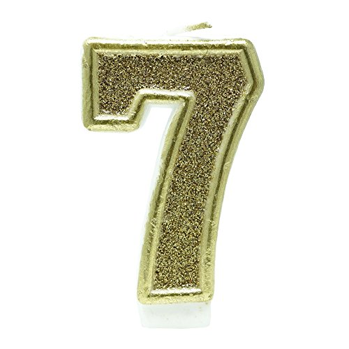 number seven candle - 8