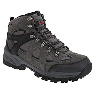 Johnscliffe® ANDES Hiking / Walking Boots. Waterproof, Charcoal Gray. Suede 3