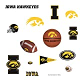 Best RoomMates Vinyl USA Boy Gifts - ROOMMATES RMK1745SCS University of Iowa Peel and Stick Review